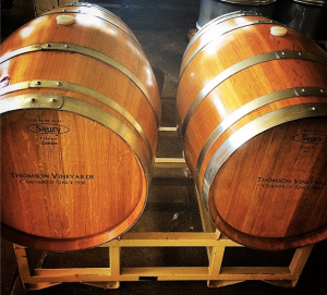 Thomson Vineyards Barrels